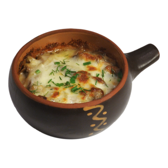 Жульен грибной с соусом сливочным