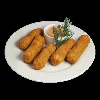 "Сырные палочки с соусом ""Тар-тар"""