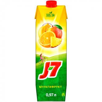 Сок J-7 Тропические Фрукты